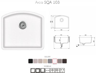 ARCA SQA103-710AW Alba z korkiem automatycznym