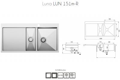 LUNA LUN151M-R