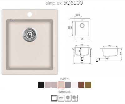 SIMPLEX SQS100-111W Silica