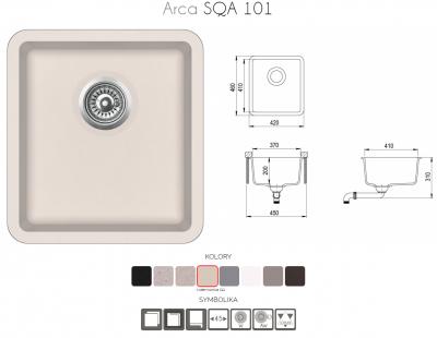 ARCA SQA101-111AW Silica