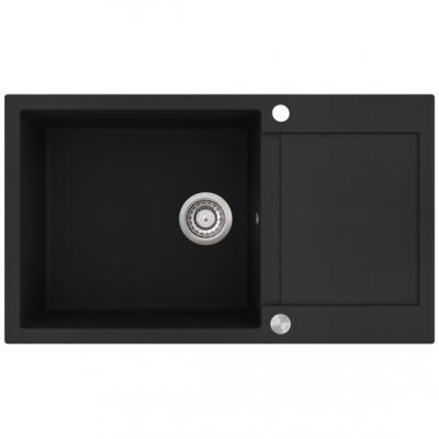 Aquasanita TESSA SQT104-601AWP BLACK METALIK nowy przycisk automatu