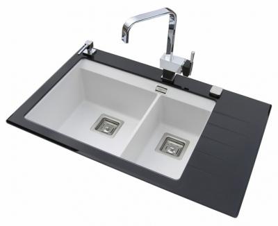 DELICIAPLUS GQD150B-710AW Czarne szkło/Alba