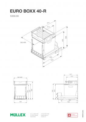Muellex EURO BOXX 40-R ( korpus 40 lub 50 cm )