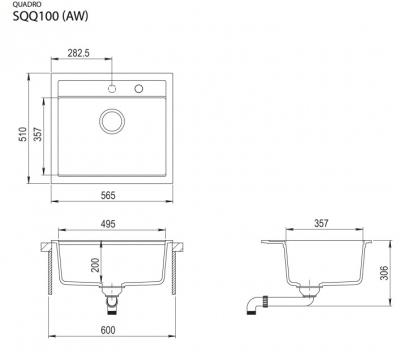 Quadro SQQ100-710AW Alba