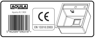 AQUILA AQUARIUS 45.1 INOX